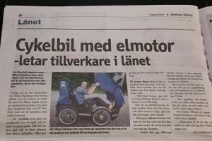 Jämtlands tidning artikel