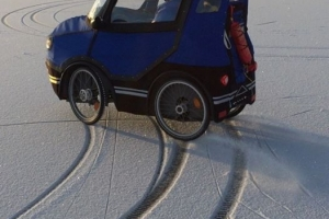 Ice drifting bild